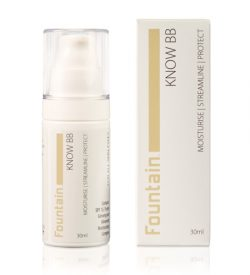 Fountain Know BB cream, all in one moisturiser, primer and beauty balm