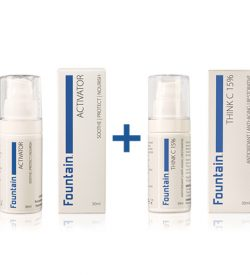 Fountain Think C 15%, a waterless vitamin C serum