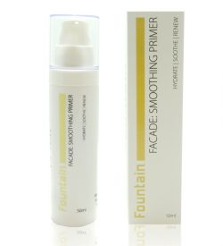 Fountain Facade Smoothing Primer calms and soothes the skin for a smooth and radiant complexion