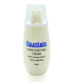 Hand and Nail Cream repairs hands that are dry, irritated or chapped