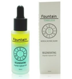 Fountain Timeless VI Regenerating is a skin rejuvenation serum that reverses the visible signs of aging